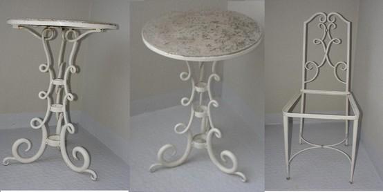 ren drouet salon de jardin fer forg art d co. Black Bedroom Furniture Sets. Home Design Ideas