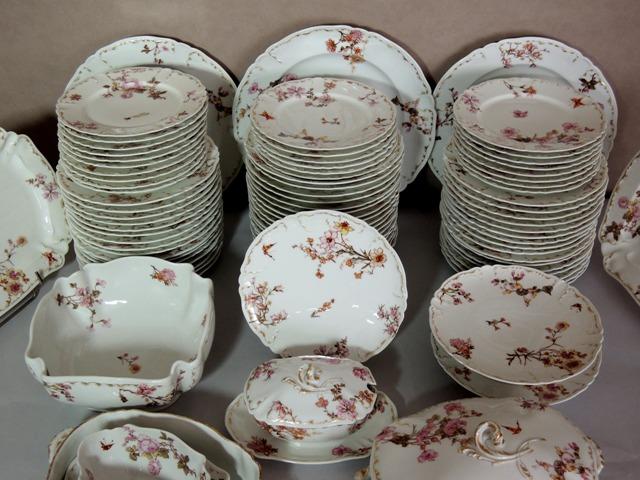 Service de table limoges haviland porcelaine - Service de table en porcelaine de limoges ...