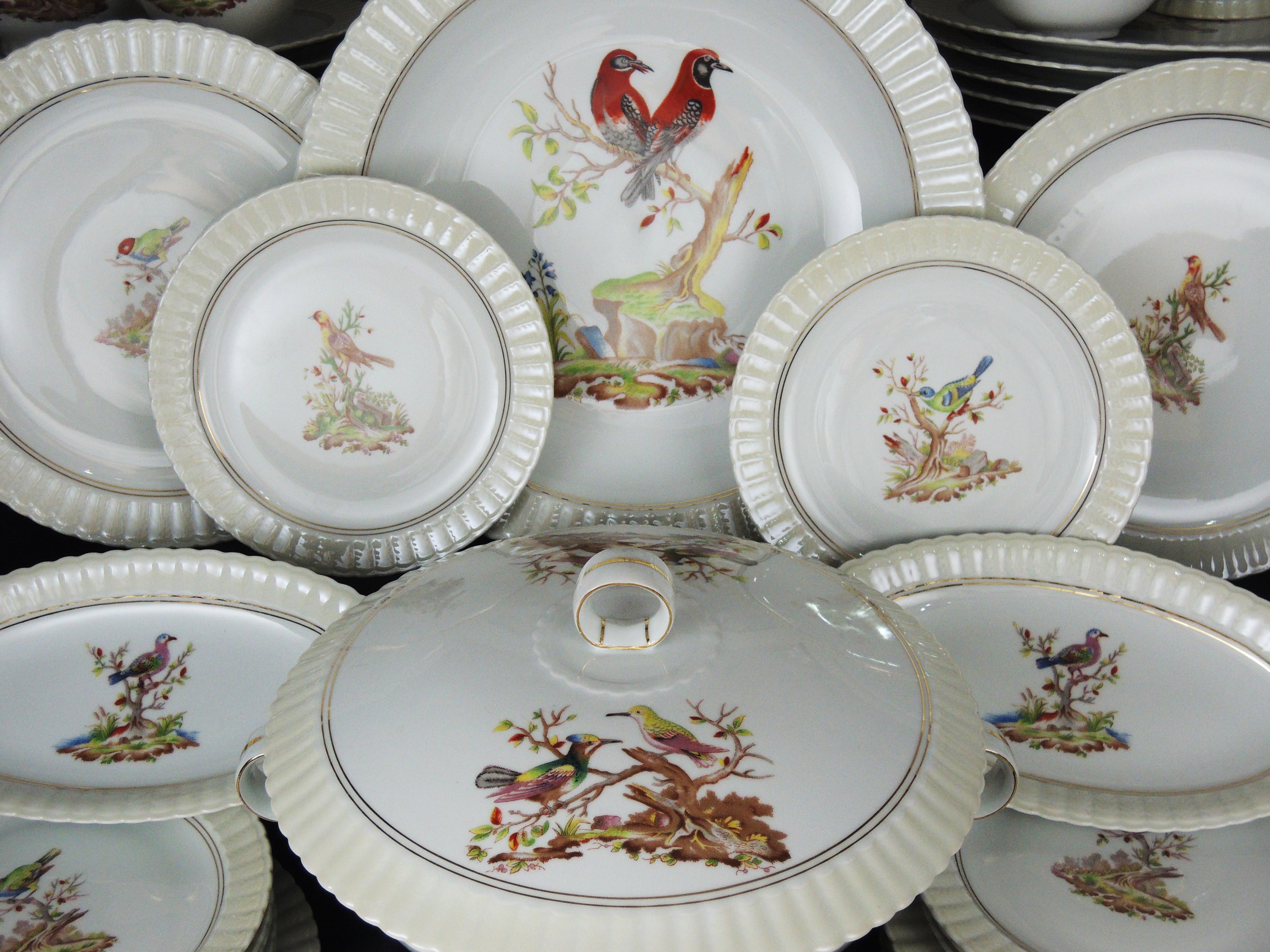 bernardaud limoges porcelaine service de table dinnerware. Black Bedroom Furniture Sets. Home Design Ideas