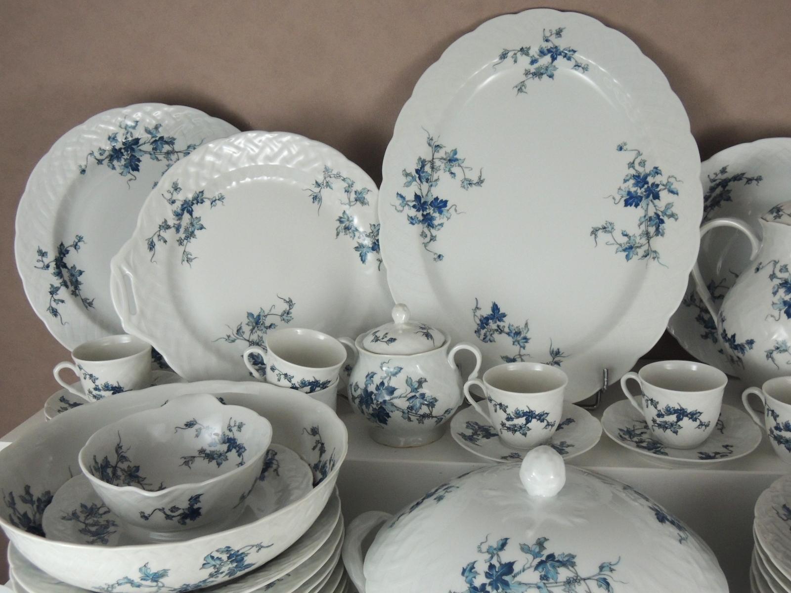 Bernardaud limoges saint saens porcelaine service de table - La maison de porcelaine ...